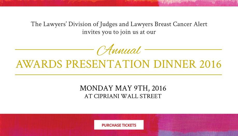 Annual Awards Presentation Dinner