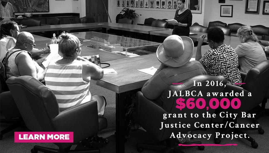 JALBCA City Bar Justice