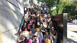 Race For Cure Participants