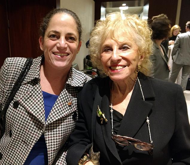 JALBCA Co-President Luisa Kaye and Former Co-President Hon. Sondra Miller
