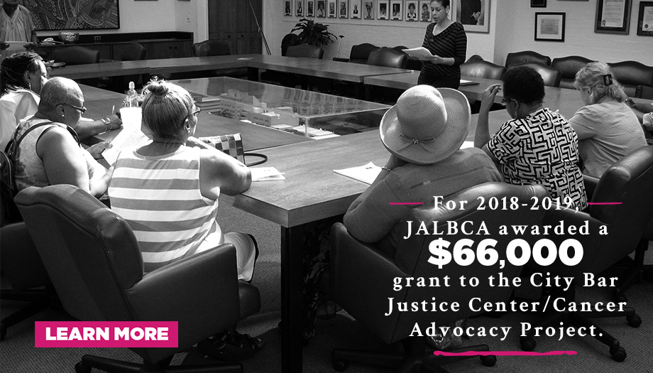 JALBCA City Bar Justice 2018