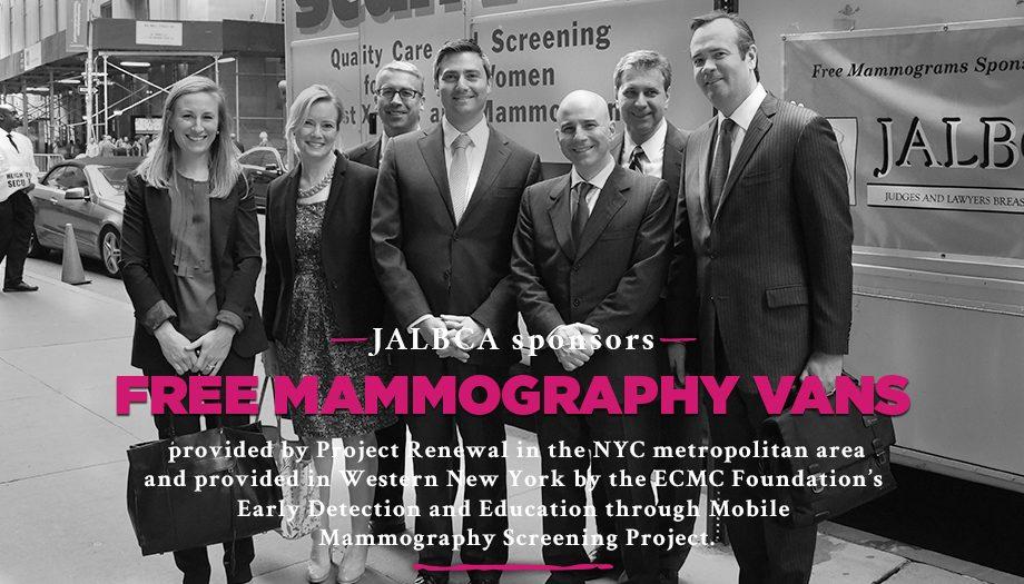 JALBCA Mammography Van 2018