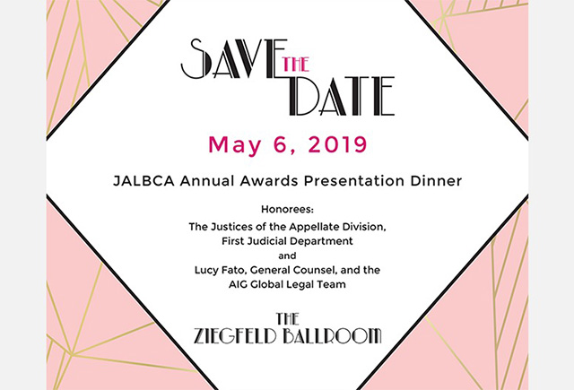 JALBCA Awards Presentation Dinner