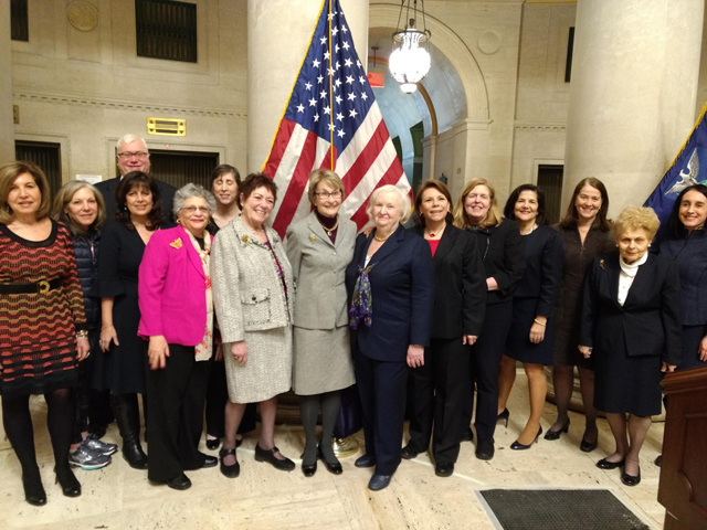 Many fellow JALBCA Board members and friends joined in celebrating the judicial career of Board member and former Co-President Hon. Eileen Bransten, at New York State Supreme Court on January 15, 2019.